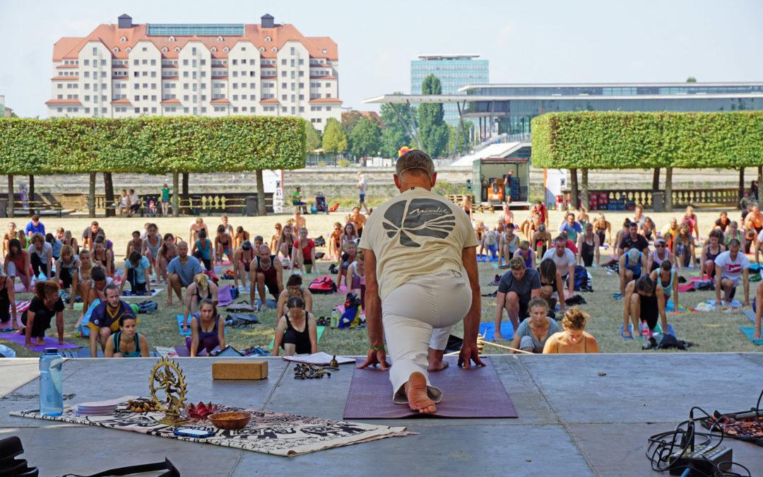 Ramadhuta Yoga @ Palais Sommer Dresden, Japanisches Palais